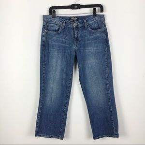 Lucky Classic Rider Crop Cropped Jeans Capris 10